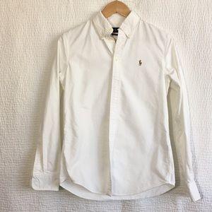 Ralph Lauren shirt size m in white